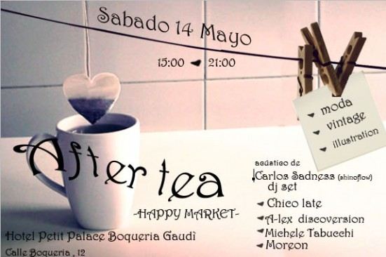 After Tea Market flyer
