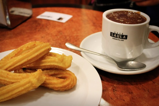 photo of churros