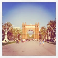 photo of Arc de Triomf