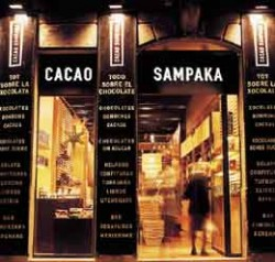 photo outside Cacao Sampaka