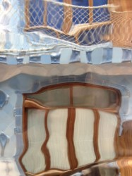 photo of the tiles inside Casa Batlló