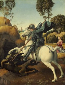 Oil painting by Raphael
