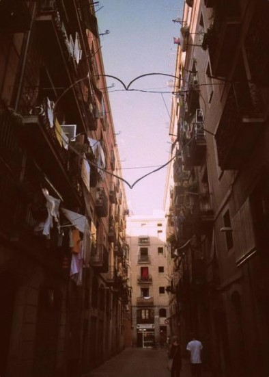 photo of a street in El Raval