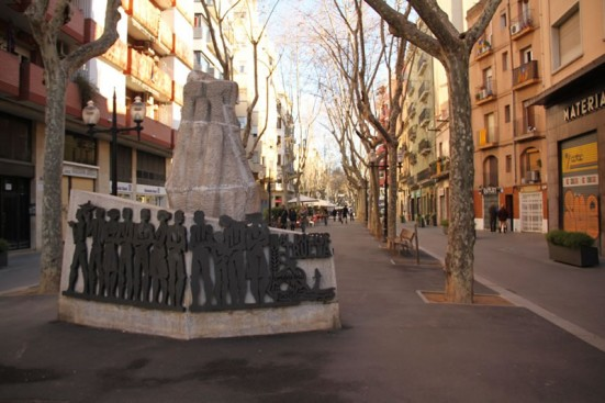 photo of the Doctor Trueta memorial