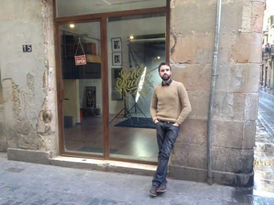 Señor Archer studio in the Raval