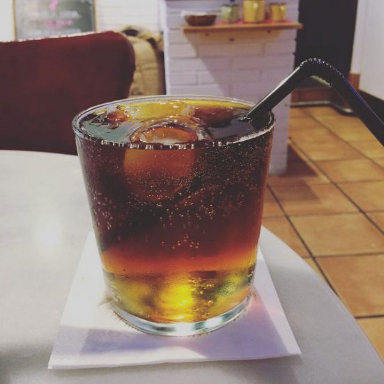 A Cold Brew Tonic at Onna