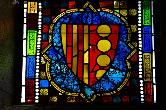 Pedralbes Monastery stained glass
