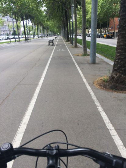 Avinguda Diagonal bike lane