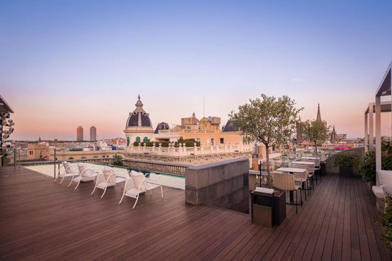 Chill-Out Terrace at Ohla Barcelona