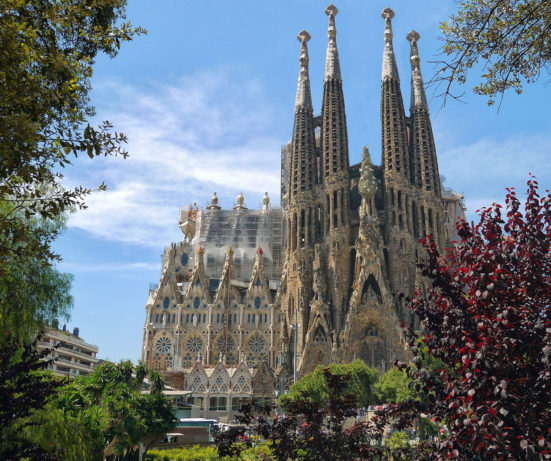 photo of the Sagrada Família