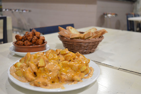 Suchart's bravas and pincho moruno