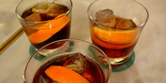 glasses of Spanish vermouth
