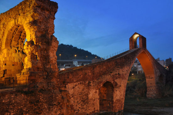 The Devil's Bridge, Martorell, Catalonia