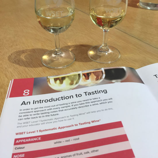 WSET wine courses in Barcelona