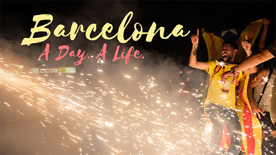 Barcelona. A Day. A Life.